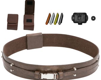 Star Wars Anakin Skywalker Jedi Belt Bundle - Belt, Pouches, Food Caps, Covertec - JR 3193