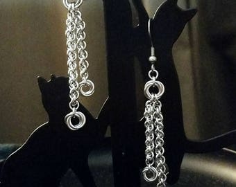 Mobius JPL Dangle Chainmaille Earrings