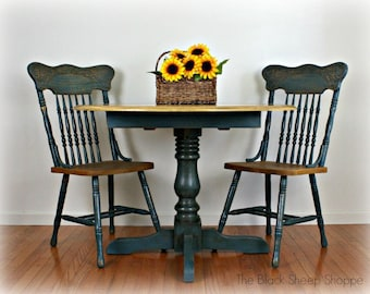 French Country Table and Chairs