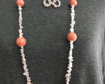 Quartz Jewelry Set
