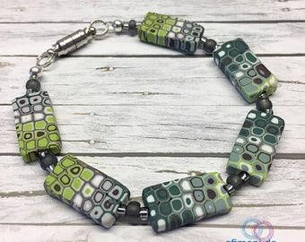 "Bracelett ""May"" handmade Efimoni one of a kind gift"