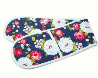 Oven Mitts - The Good Life by Bonnie and Camille for Moda- Floral