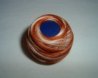 Cotton lace n ° 80 gradient Brown DMC No. 105