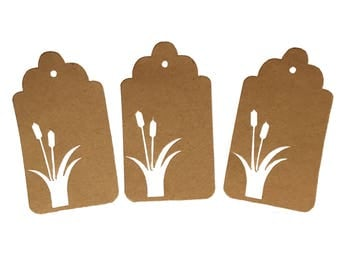 Cattail Gift Tags