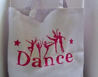 Girls Dance Tote Bag