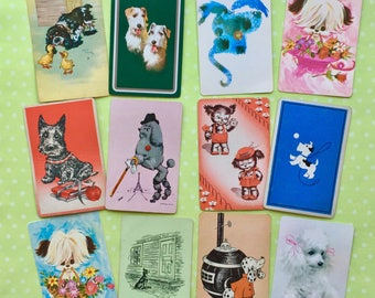 Dog Days Vintage Playing Cards