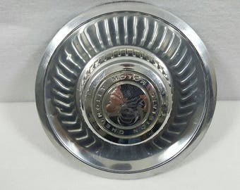 Vintage Chevrolet Rally Wheel Center Cap