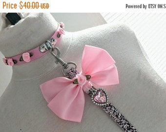 30%off sale Luxe petplay ddlg collar and leash set bdsm