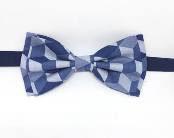Navy Bow Tie, Blue Bow Tie, Light Blue Bow Tie, Mens Blue Bow Tie, Father Son Bow Tie, Navy Blue Bow Tie, Navy Clip-on Bow Tie, Boys Bow Tie
