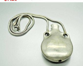 Vintage Silver Jug Necklace Fashion Jewelry
