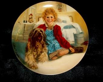 Edwin M Knowles Decorative plate