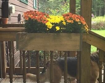 Outdoor flower pots planter boxes