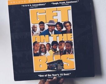 Vintage Get On The Bus Laserdisc Vinyl
