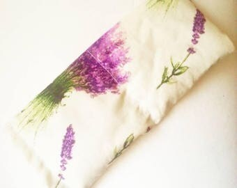 Lavender eye pillow, relaxation, yoga, shavasana, meditation, yoga prop, yoga eye pillow, lavender flowers, eye mask