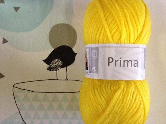 WOOL PRIMA Buttercup - white horse