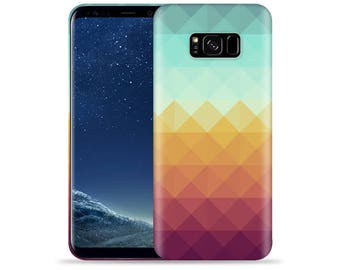 For Samsung Galaxy S8 Plus Case - Galaxy S8+ Case #Pixel Waves Design Hard Phone Case