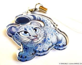 Snow Panther Charm
