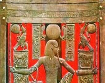 Treasures Of Tutankhamun 1976 Vintage Moma Poster