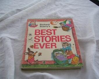 Richard Scarry's Best Stories Ever HC 1971 Vintage