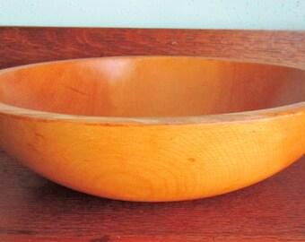 Vintage Munising Wooden Bowl