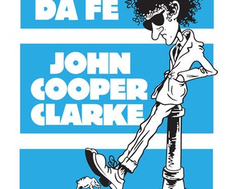 John Cooper Clarke poster