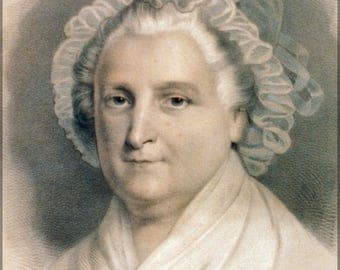 Poster, Many Sizes Available; Martha Washington By Currier And Ives