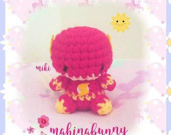 Adorable Flash plush, Crochet Flash super hero plush, amigurumi Flash doll, crochet doll, plush doll, plush Flash amigurumi doll