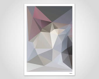 Art print throne poster-