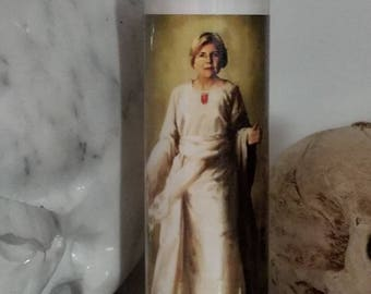 St Elizabeth Warren prayer candle