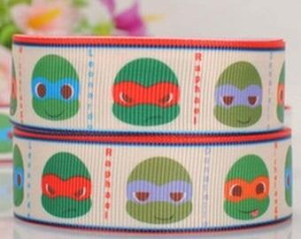 Turtle ninja (50cm) 25mm Ribbon