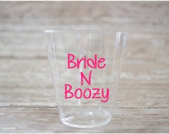 Final Fling Before The Ring Vinyl Decals For Ounce Shot - Vinyl decals for shot glasses