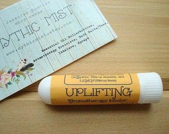UPLIFTING Aromatherapy Inhaler, Grapefruit, Orange, and Lemon Aromatherapy Inhaler, Essential Oil Inhaler