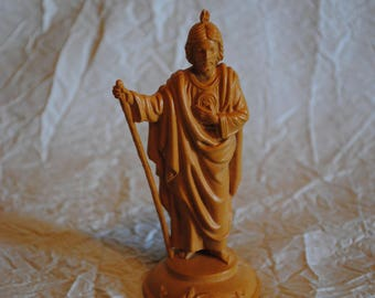 Religious figure with staff