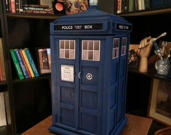 ON SALE NOW Tardis Inspired Large Jewelry Box v.2.0