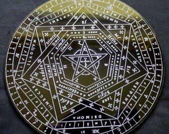 Sigillum Dei Amaeth | Sigil Dei Aemeth | John Dee | Edward Kelly | Enochian Magic | Enochian Magick | Thelema | Aleister Crowley | Scrying