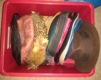 Vintage Hats Job lot of 8 (2nd lot)