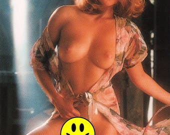 MATURE - Playboy Trading Card January Edt. 1992 - Playmate - Echo Johnson  - Card #119