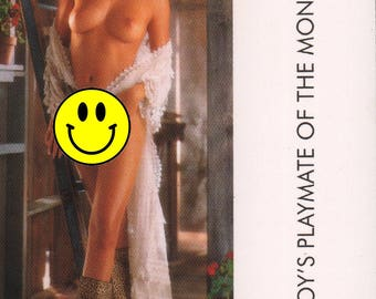 MATURE - Playboy Trading Card January Edt. 1993 - Playmate Centerfold - Echo Johnson - Card #120