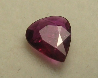 Natural unheated ruby 0.58 ct