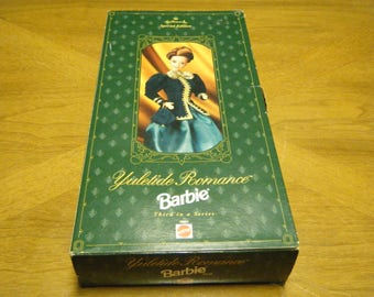 NIB Yuletide Romance BARBIE 1996 Mattel Doll