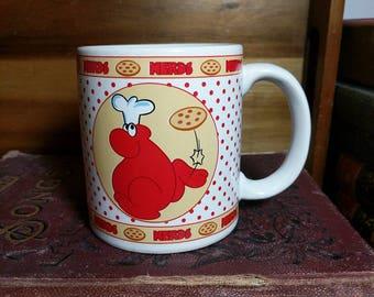 1984 Willy Wonka Brand Red Nerds Candy Mug