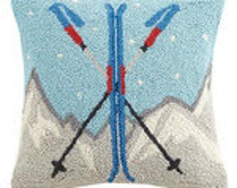 Crossed Skis