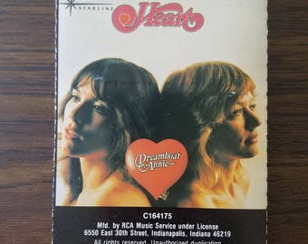 Heart 1976 Vintage Cassette Tape Dreamboat Annie