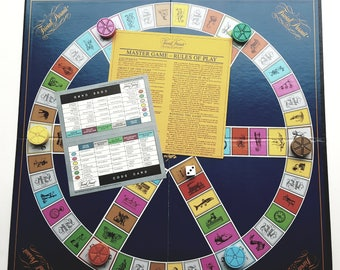 Vintage Board Game/ Trivial Pursuit Master Game- Genus Edition
