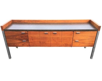 Mid-Century Modern Office Credenza in the style of Knoll