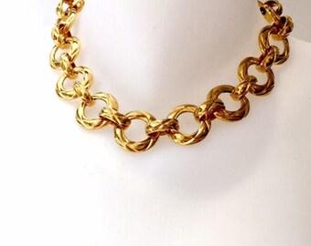 Vintage Chanel crew neck collar