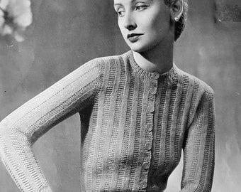 P&B 2746 Vintage Knitting Pattern