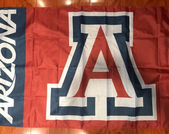 University of Arizona College Flag Banner 3x5ft (150x90cm) w Grommets Wildcats