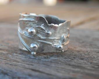 Designer statement ring design 925 sterling silver