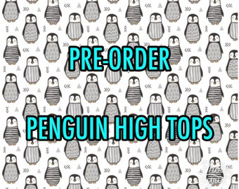 Pre-order for Penguins High Tops